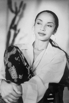 Sade. Woman of ageless beauty. Her music is ageless as well.