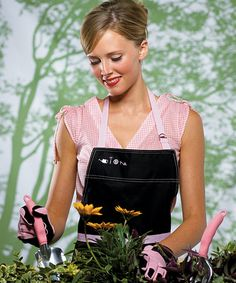 Hello Dolly - Apron & Glove Set in Pink
