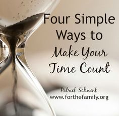 What does it look like to steward time well? How do we invest time in a way that honors God, serves our family well, and enables us to live more awake? The following is a list of ways we can skillfully handle the days we have been given.