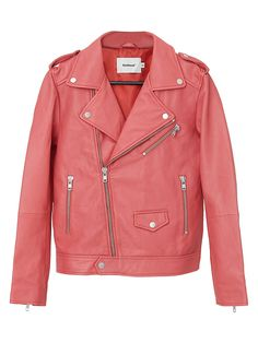 Deadwood River Recycled Leather Jacket   TheBay