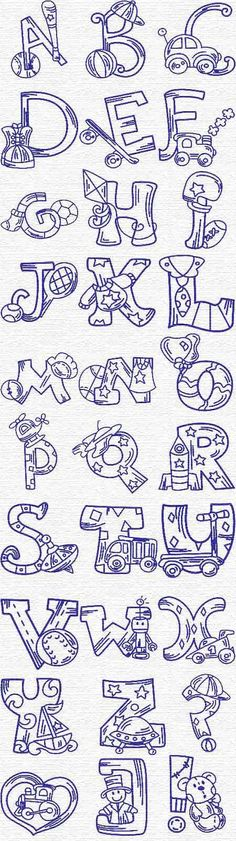 Grand Sewing Embroidery Designs At Home Ideas. Beauteous Finished Sewing Embroidery Designs At Home Ideas. Embroidery Alphabet, Cross Stitch Embroidery, Hand Embroidery, Machine Embroidery Designs, Embroidery Patterns, Baby Motiv, Creative Lettering, Alphabet And Numbers, Coloring Pages