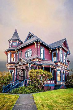 Architecture Gingerbread House Gingerbread House Photograph by Maria Coulson Victorian Architecture, Beautiful Architecture, Beautiful Buildings, Architecture Details, Beautiful Homes, Victorian Style Homes, Edwardian House, Victorian Decor, Gothic House