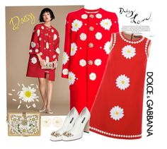"""""""daisy...."""" by nihal-imsk-cam on Polyvore featuring moda, Dolce&Gabbana ve Alison Lou"""