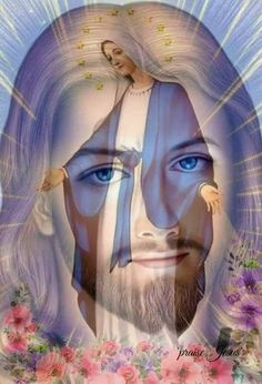 Good morning friends have a nice day. Jesus Mother, Blessed Mother Mary, Pictures Of Jesus Christ, Religious Pictures, Jesus Christ Painting, Christ Tattoo, Jesus Loves Us, Jesus Wallpaper, Mama Mary