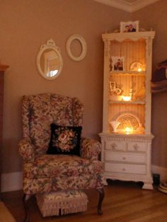 Like This Corner Cabinet With Lighting. Living Room ... Part 85