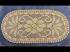 Aprenda como fazer um lindo tapete de crochê - YouTube