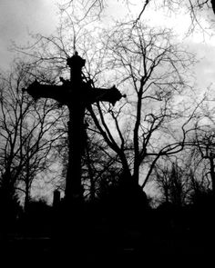In the graveyard.....