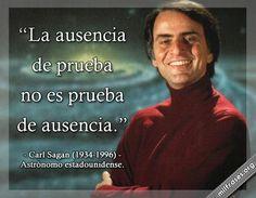 Carl Sagan, astrónomo estadounidense.
