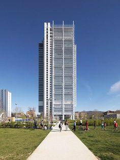 Intesa Sanpaolo office building , Turin, 2015 - RPBW - Renzo Piano Building Workshop