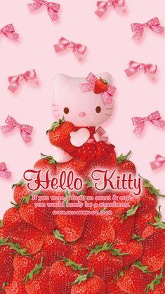 素材画像 Hello Kitty Art, Hello Kitty Pictures, Sanrio Hello Kitty, Hello Kitty Backgrounds, Hello Kitty Wallpaper, Cute Backgrounds, Sanrio Wallpaper, Kawaii Wallpaper, Phone Wallpaper Design