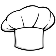 chef hat fork and spoon food icon food symbol restaurant label rh pinterest com chef hat clip art free chef hat clipart download