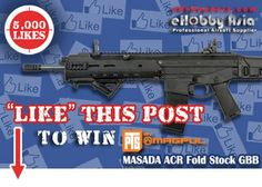 """Like"" Facebook Post, Win A Magpul ACR GBB"