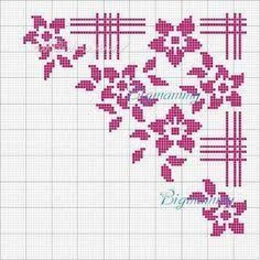 Image result for cross stitch napkin , pinterest