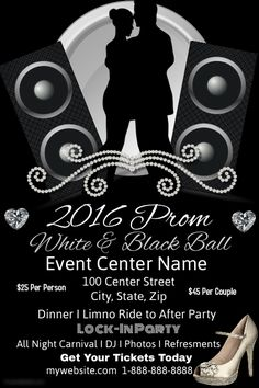 Customize This Poster Template With Your Photos And Text  Prom