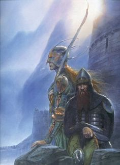I do not like this place, and I shall like it no more by the light of day. But you comfort me, Gimli, and I am glad to have  you standing nigh with your stout legs and your hard axe. I wish there were more of your kin among us. But even more would I give for a hundred good archers of Mirkwood. We shall need them
