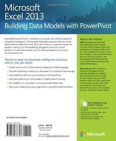#Microsoft excel 2013: #building data models with #powerpivot (business skills),  View more on the LINK: http://www.zeppy.io/product/gb/2/291540642007/