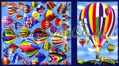 Hot+Air+Balloons+Panel+by+Exclusively+Quilters+at+Creative+Quilt+Kits  Use Code- PINTEREST10 to receive 10% off your order at check out!!