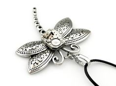Watch Dragonfly Necklace    Clockwork Dragonfly by SteamSect