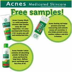 Get a Free Sample of ACNE Skincare