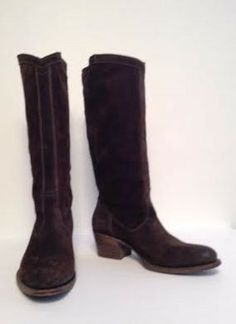 n.d.c. made by hand Brown Suede Boot Size 37.5