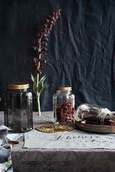 Bote de vidrio con tapa | H&M
