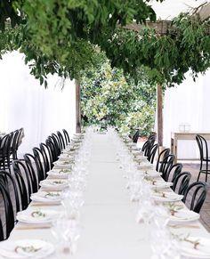CLEAN + CRISP // Jess & Dan's stunning strong minimalist reception. @erinandtara . By - @wildernessflowers_ #erinandtara #byronbaywedding #botanical #weddingreception #WeddingInspo #WeddingSetting #WhiteWedding Reposted Via @kwhbridal