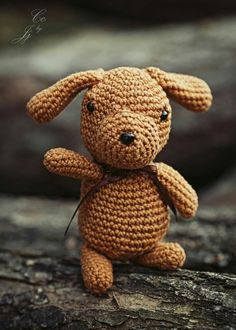 Crochet puppy by heart