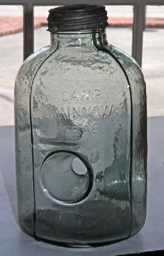 Glass Camp Minnow Trap
