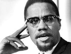 """Malcolm Little (May 19, 1925 – February 21, 1965) """"Malcolm X"""" """"El-Hajj Malik El-Shabazz"""" ~ African-American Muslim minister and human rights activist. To his admirers, he was a courageous advocate for the rights of African Americans, who indicted white America in the harshest terms for its crimes against black Americans. Detractors accused him of preaching racism, black supremacy, antisemitism, and violence. He's been called one of the greatest and most influential African Americans in…"""