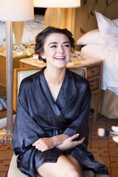 Maisie Williams SAG Awards Makeup | Celebrity 2015 Awards Beauty | Teen Vogue