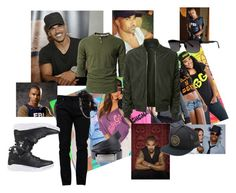 """""""Stylin' Shemar Moore"""" by shanry on Polyvore featuring Valentino, LE3NO, EA7 Emporio Armani, Mastermind World, Zac Posen, Versace, men's fashion, menswear, BabyGirl and babyboy"""