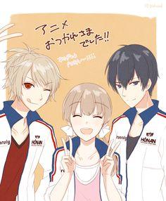 Prince of Stride - Riku, Nana, & Takeru by らむ酒 on pixiv