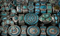 Old Pawn Indian Turquoise Jewelry