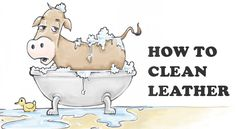 The safe, easy and effective way to clean leather stuff. Make jackets, couches, chairs and shoes look better than ever, and never worry about damage. Clean and condition in one simple step!