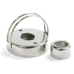 Stainless Steel Cookie Donut Linzer Biscuit Cutter Doughnut Maker New