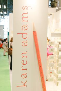National Stationery Show 2014, Part 4 + A Giveaway! - Southern Weddings Magazine - Karen Adams Designs Booth! #nss