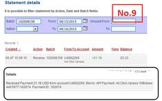 Here is my Withdrawal Proof from AdClickXpress. I get paid daily and I can withdraw daily. Online income is possible with ACX, who is definitely paying - no scam here. http://www.adclickxpress.com/?r=84j84bjehas&p=aa