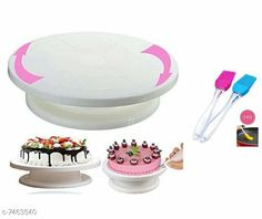 Dinnerware & Serving Pieces Cake Stand Material: Plastic Pack: Pack of 1 Country of Origin: India Sizes Available: Free Size   Catalog Rating: ★4.2 (439)  Catalog Name: Best Cake Stands CatalogID_1200820 C136-SC1602 Code: 084-7463540-9201