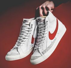 outlet store 6404d 432f5 Nike Blazer Mid VNTG Nike Blazer Mid VNTG Habanero Red Nike Air Force, Nike  Air