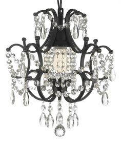 This Fair Lady Crystal Chandelier by Gallery Lighting is perfect! #zulilyfinds