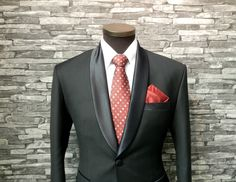 Neutral black and white with contrasting colors (blue and red). Simple yet beautiful color scheme.