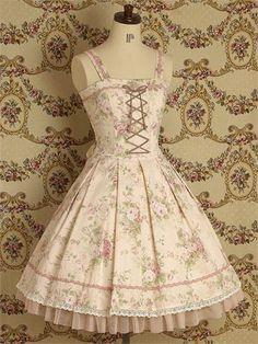 Mary Magdalene / Jumper Skirt / Old Rose JSK