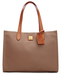 Like it in taupe and red!  Dooney & Bourke Handbag, Eva Collection Shopper - Dooney & Bourke - Handbags & Accessories - Macy's
