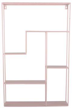 Säilytä lapsesi kirjat ja lelut tässä tyylikkäässä FORM Livingin hyllyssä! Hylly kiinnitetään seinälle helposti kahdella ruuvilla, jonka jälkeen siihen voi laittaa kaikki ne pikkutavarat, jotka haluat pois lastenhuoneen lattialta. <br><br>Mitat: 65 x 10 x 42 cm.<br><br>Materiaali: Metalli.<br><br>Väri: Vaaleanpunainen. <br>