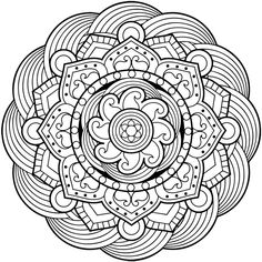 mandala coloring pages for adults... - http://designkids.info/mandala-coloring-pages-for-adults.html #designkids #coloringpages #kidsdesign #kids #design #coloring #page #room #kidsroom