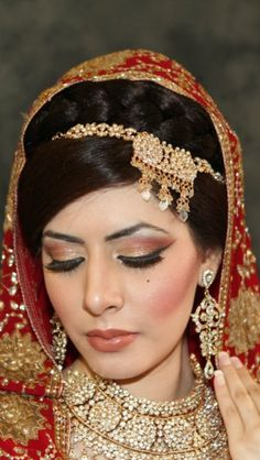 Bride hair&makeup done by Me