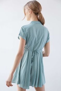 Kimchi Blue Lucy Printed Shirt Dress - Urban Outfitters