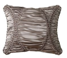 La Rose Synthetic Pillow with Braid | Wayfair