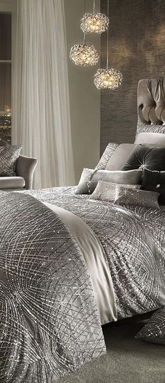 Esta Duvet Cover | Modern Glam Decorating