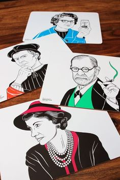 The Interesting Guests featured in this set include Rachel Carson Coco Chanel Sigmund Freud and Niccol Machiavelli Many of us have become quite good